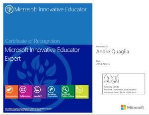 quaglia_mieexpert_certificate
