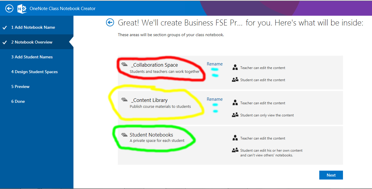 Working with Microsoft OneNote Class Creator : Cloud of ...