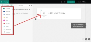 adding multimedia sway