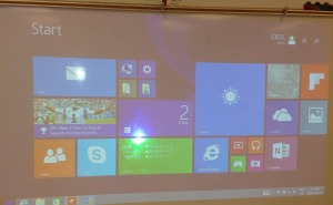Projecting the desktop  via Miracast